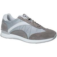 Schuhe Herren Sneaker Low Exton 661 Grau