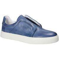Schuhe Herren Slip on Exton 511 Blau