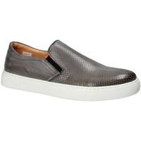 Schuhe Herren Slip on Exton 515 Grau