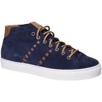 Schuhe Herren Sneaker High Exton 476 Blau