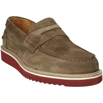 Schuhe Herren Slipper Exton 5102 Braun