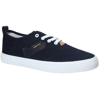 Schuhe Herren Sneaker Low Gas GAM810111 Blau