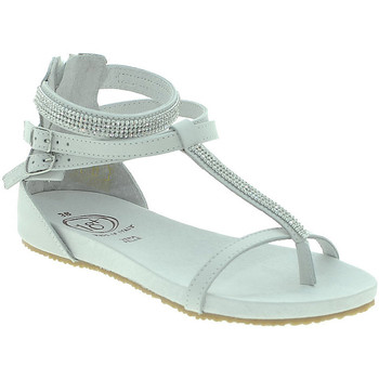 Schuhe Damen Sandalen / Sandaletten 18+ 6110 Weiß