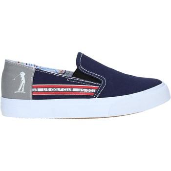 Schuhe Jungen Slip on U.s. Golf S19-SUK403 Blau