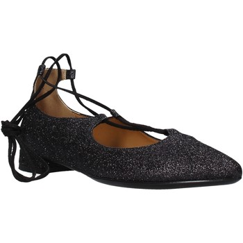 Schuhe Damen Ballerinas Grace Shoes 521T046 Schwarz