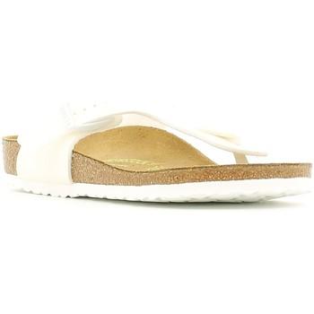 Schuhe Kinder Zehensandalen Birkenstock 847223 Weiß