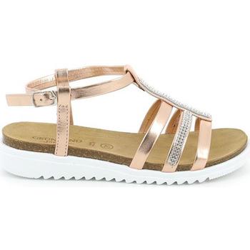Schuhe Mädchen Sandalen / Sandaletten Grunland SB0287 Rosa