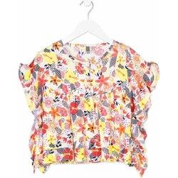 Kleidung Mädchen Hemden Losan 814-3003AB Orange