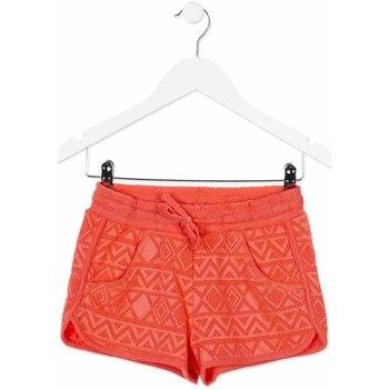 Kleidung Kinder Shorts / Bermudas Losan 814-6019AB Orange