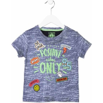 Kleidung Kinder T-Shirts Losan 815-1017AC Blau