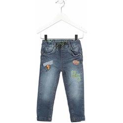 Kleidung Kinder Slim Fit Jeans Losan 815-6019AC Grau