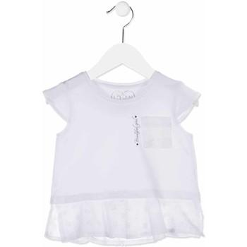 Kleidung Mädchen Hemden Losan 816-1016AD Weiß