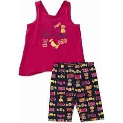 Kleidung Mädchen Kleider & Outfits Losan 816-8044AD Rosa