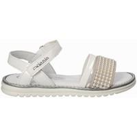 Schuhe Mädchen Sandalen / Sandaletten Melania ME6094F8E.B Weiß