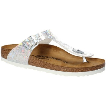 Schuhe Kinder Zehensandalen Birkenstock 1008093 Weiß