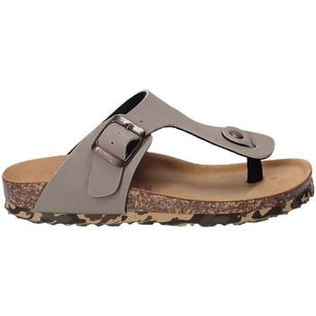 Schuhe Kinder Zehensandalen Bionatura 22B1010 Grau