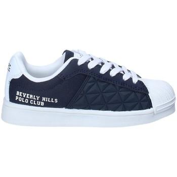 Schuhe Jungen Sneaker Low Beverly Hills Polo Club BH-2023 Blau