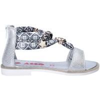 Schuhe Mädchen Sandalen / Sandaletten Asso 64075 Grau