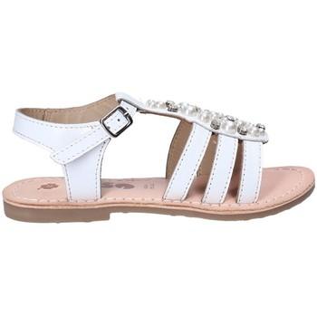 Schuhe Mädchen Sandalen / Sandaletten Asso 65952 Weiß