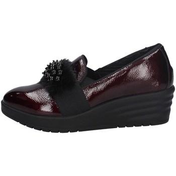 Schuhe Damen Slip on Imac 606330 BORDEAUX
