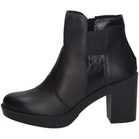 Schuhe Damen Ankle Boots Imac 606150 SCHWARZ