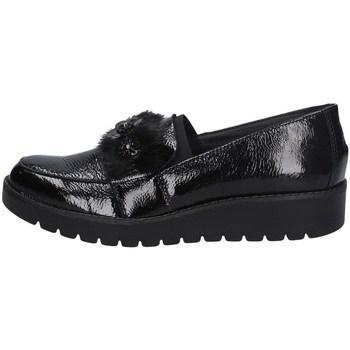 Schuhe Damen Slip on Imac 605350 SCHWARZ