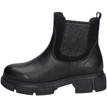 Schuhe Damen Ankle Boots Keys K-3200 Schwarz
