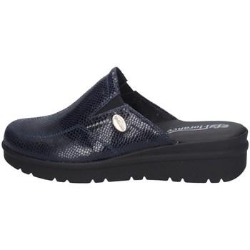 Schuhe Damen Pantoffel Florance C23404-4 BLAU