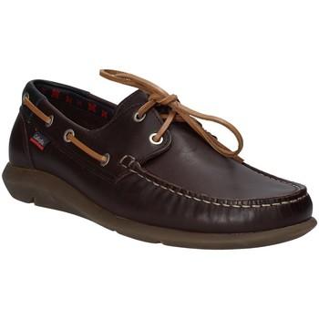 Schuhe Herren Bootsschuhe CallagHan 14400 Braun