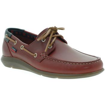 Schuhe Herren Bootsschuhe CallagHan 14400 Rot