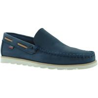 Schuhe Herren Slipper CallagHan 15400 Blau