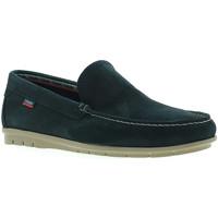 Schuhe Herren Slipper CallagHan 85100 Blau