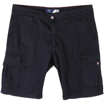 Kleidung Herren Shorts / Bermudas Sei3sei PZV130 81408 Blau