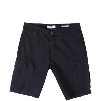 Kleidung Herren Shorts / Bermudas Sei3sei PZV130 8157 Blau