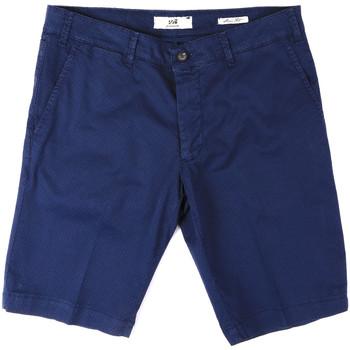 Kleidung Herren Shorts / Bermudas Sei3sei PZV132 8136 Blau
