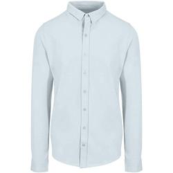 Kleidung Herren Langärmelige Hemden Awdis SD042 Blau