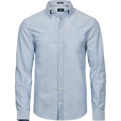 Kleidung Herren Kurzärmelige Hemden Tee Jays TJ4000 Hellblau