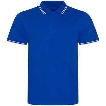 Kleidung Herren Polohemden Awdis JP003 Königsblau/Weiß