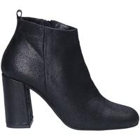 Schuhe Damen Ankle Boots Keys 7172 Schwarz