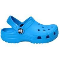 Schuhe Kinder Pantoletten / Clogs Crocs 204536 Blau