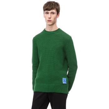 Kleidung Herren Pullover Calvin Klein Jeans K10K102731 Grün