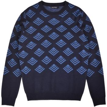 Kleidung Herren Pullover Antony Morato MMSW00859 YA400006 Blau