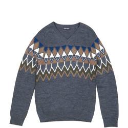 Kleidung Herren Pullover Antony Morato MMSW00885 YA400006 Grau