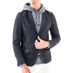 Kleidung Herren Jacken / Blazers Antony Morato MMJA00368 FA100171 Blau