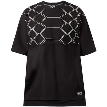Kleidung Herren T-Shirts Ea7 Emporio Armani 6ZPT43 PJQ0Z Schwarz