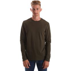 Kleidung Herren Langarmshirts Gas 300187 Grün