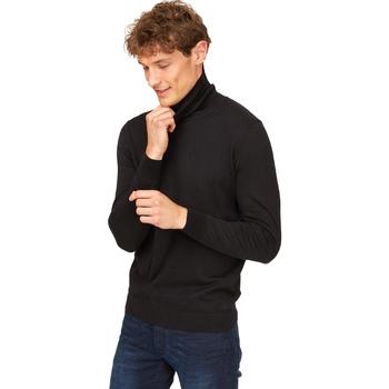 Kleidung Herren Pullover Gas 561951 Schwarz