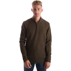 Kleidung Herren Pullover Gas 561974 Grün