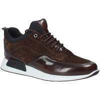 Schuhe Herren Sneaker Low Exton 162 Braun