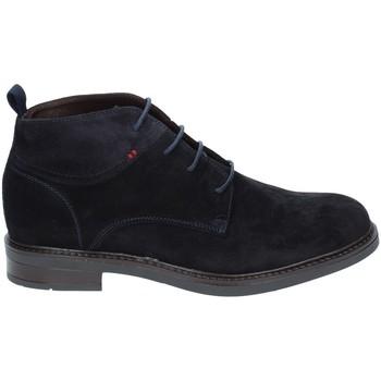 Schuhe Herren Boots Rogers 2020 Blau